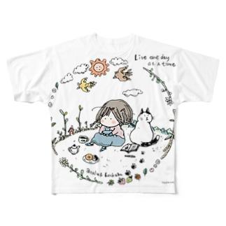 Live Full graphic T-shirts