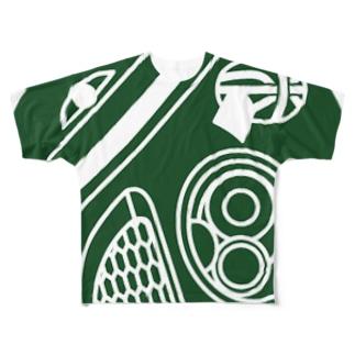 BARAMINICOLLA Full graphic T-shirts