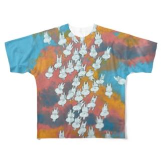 生れ落ちる Full graphic T-shirts