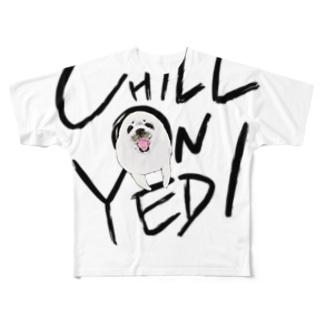 ON AZARASHI  Full graphic T-shirts