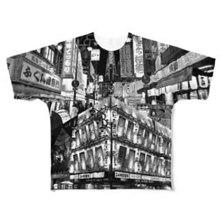 QUALIA of X ズィ・大阪 Full graphic T-shirts