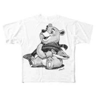 バーニーベア Full Graphic T-Shirt