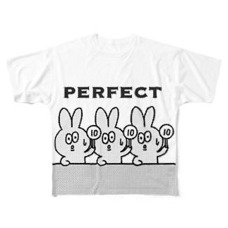 perfectミミガー Full graphic T-shirts