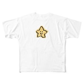 おぽちちゃまくん Full graphic T-shirts