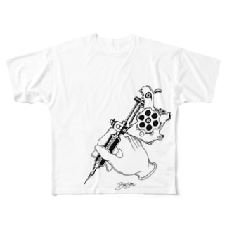 ハンドマシン Full graphic T-shirts