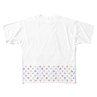 PANDA LAUREN Full Graphic T-Shirt