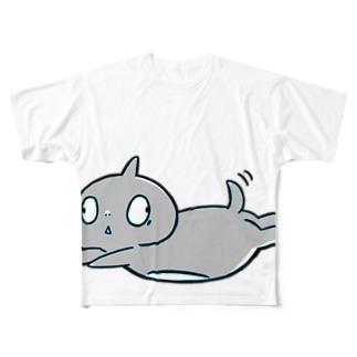 boon aquablue Full graphic T-shirts