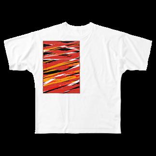 little10 の落単 Full graphic T-shirts