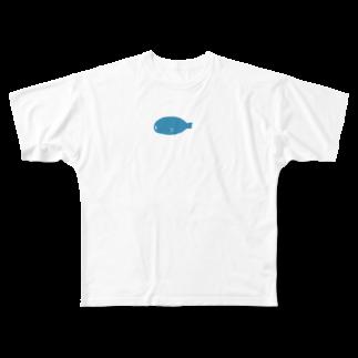 kirin.boutiqueのアザラシさん Full graphic T-shirts