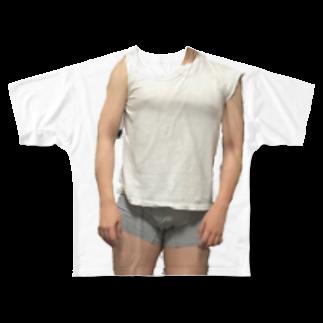 TSUNOOOOOOのヌギヌギヤンヤンさん、 Full graphic T-shirts