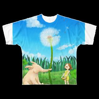 宮本明香のはるかぜ Full graphic T-shirts