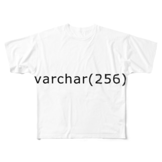 varchar(256) Full graphic T-shirts
