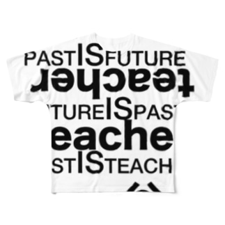 past is future.2 Full graphic T-shirts