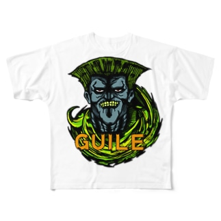 KKP72のゾンビガイル Full graphic T-shirts