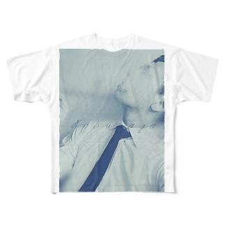 もくのぶシリーズ C Full graphic T-shirts