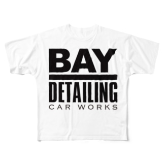 Bay Detailing Car Works Full graphic T-shirts