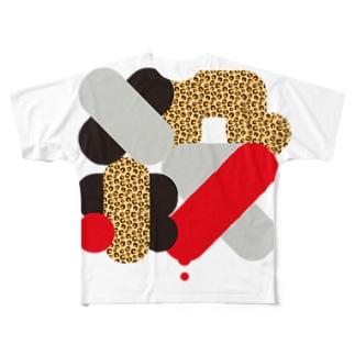 【漢字T】ころしたいぽ♡ Full graphic T-shirts