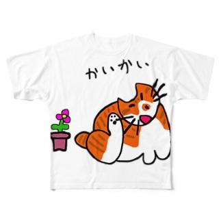 はちみつねこ Full graphic T-shirts