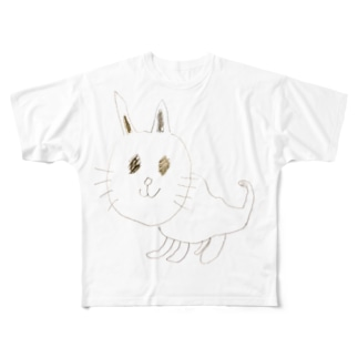 バズりたいネコ Full graphic T-shirts