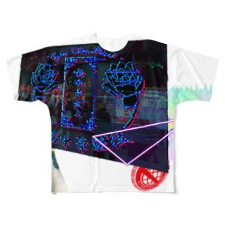 電電電電電電電電電脳チャイナパトローローローローローローロールルルルルルルルルルルルルルル Full graphic T-shirts