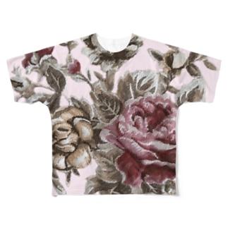アンティークローズ♡ Full graphic T-shirts