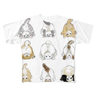 おちりコレクション Full graphic T-shirts