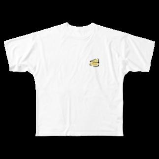 ゆるりとのcheese Full graphic T-shirts