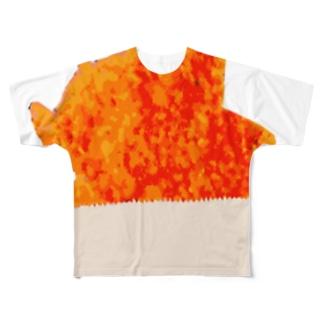 雞排(チーパイ) Full graphic T-shirts