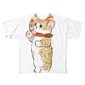 えびにゃん Full graphic T-shirts