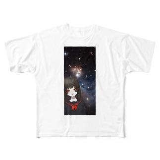 宇宙邪神 Full graphic T-shirts
