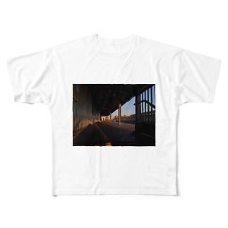 バックパッカー思い出T@NYC Full graphic T-shirts