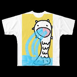 ダイナマイト87ねこ大商会のマーニャイオン Full graphic T-shirts