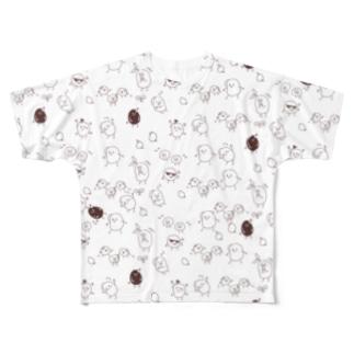 大量発生 Full graphic T-shirts