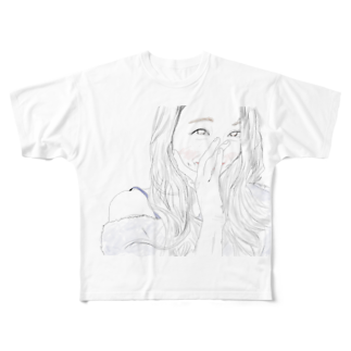 yAyuyo(やゆよ)のテレテル Full graphic T-shirts