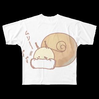 鈴のまくらとむりつむり Full graphic T-shirts