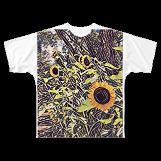 nekonigohanのオリジナルシャツ Full graphic T-shirts