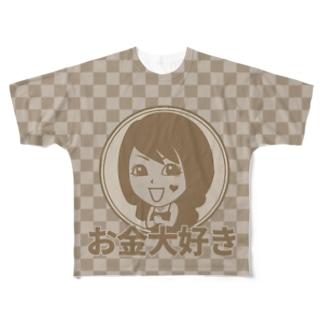 KYOTO×VANILLA Full graphic T-shirts
