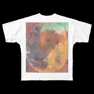 水草の春爛漫 Full graphic T-shirts