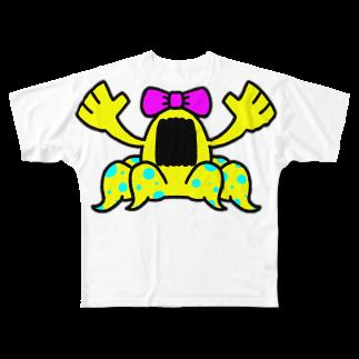 NEKOMATAのジョセッキーナ Full graphic T-shirts