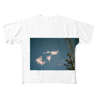 ltwincallの空写 Full graphic T-shirts