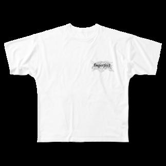 MAKOTO AOKIのImperfect Full graphic T-shirts