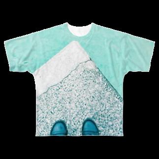 古春一生(Koharu Issey)の今日じゃない。 Full graphic T-shirts
