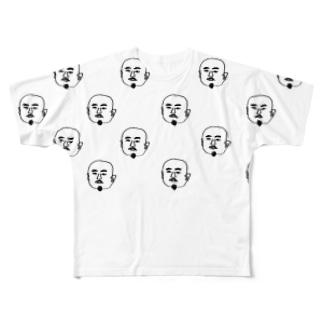 おいちゃんzu Full graphic T-shirts