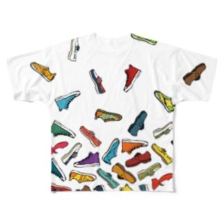 スニーカー Full graphic T-shirts