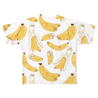 ソーメンズのかわうそばなな Full Graphic T-Shirt