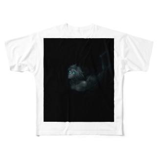 ランプアイ All-Over Print T-Shirt