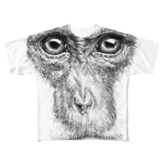 いえーいめっちゃモンキー Full graphic T-shirts