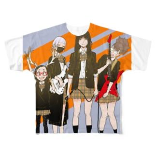 ザ・クレイジーマンケンバンド Full graphic T-shirts