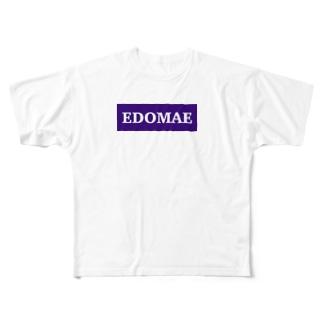EDOMAE Full graphic T-shirts