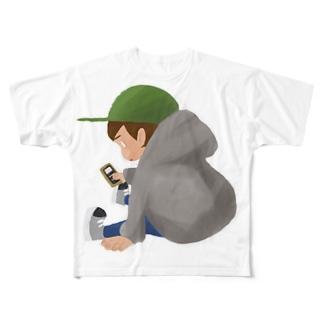 タダボーツト Full graphic T-shirts